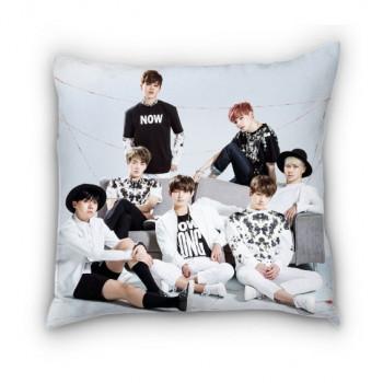 Подушка с фото белая